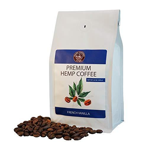 Sapa Hemp Coffee French Vanilla 12 oz Whole Bean