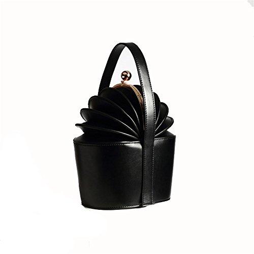 Cadeaux À Abricot Jxth tout Sacs Sac De Seau D'ananas Business Satchel Fourre Main Casual Noir Ladies couleur rZqHIwZ7