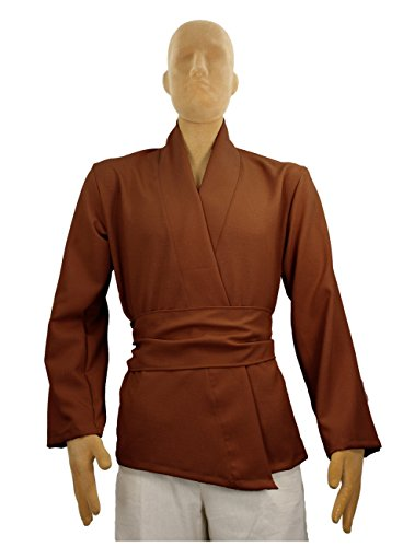 [Men's Jedi Sith Tunic Costume Adult (Medium, Chocolate)] (Dark Chocolate M&m Costume)