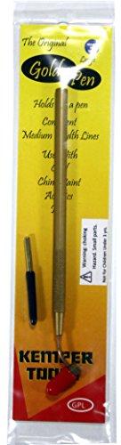 Kemper Fluid Writer Pen - Gold Pen GPL .49mm Tip