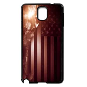 American Flag, Bold Vivid Color Design Snap-on Cover Hard Carrying Case For Samsung Galaxy NOTE4 Case Cover TPUKO-Q774546