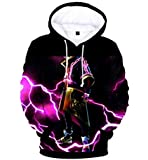 Game Fortnite 3D printing Hoodie Sweatshirt long sleeve fashion coat for Unisex MU L