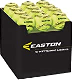 Easton Case with Quantity of 36 Soft Training Balls, Neon, 10''