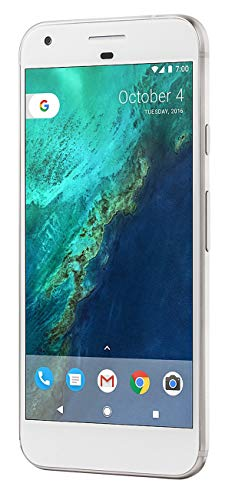 Google Pixel XL Phone 128GB - 5.5 inch Display (Factory Unlocked US Version) (Very Silver)