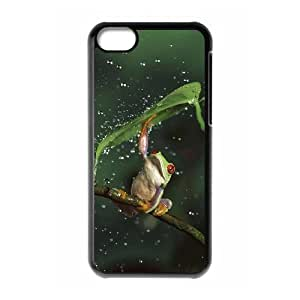 Frog Custom Cover Case for Iphone 5C,diy phone case ygtg531273