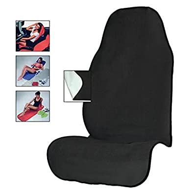 AULLY PARK Yoga Sweat Towel Auto Seat Cover for Fitness Gym Running Extreme Crossfit Workout