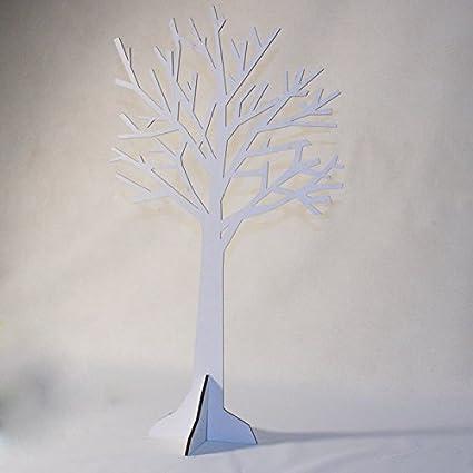Arbre De Décoration Bois Blanc H60cm L Unité Amazon Fr Cuisine Maison