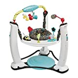 Evenflo ExerSaucer Jump and Learn Stationary Jumper Jam Session Developmental Toy baby gift idea