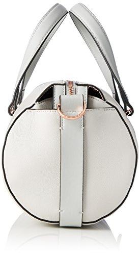 Calvin Klein Jeans Juli3t Cylinder Duffle, Borsa con Maniglia Donna, Grigio (Stone), 18 x 34 x 20 cm (B x H x T)