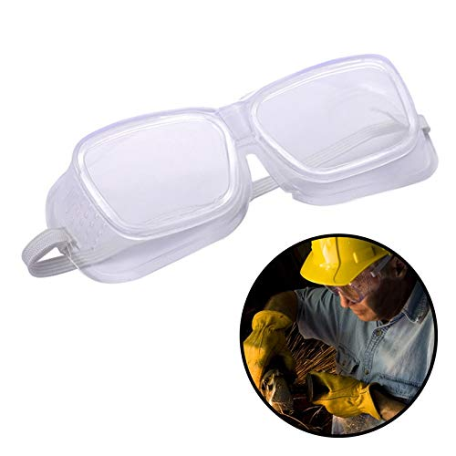 Vented Safety Clear Goggles Glasses Eye Protection Lab Work Anti Fog Eyewear New