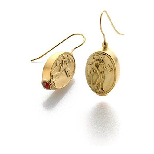 Greek Olympian Costume (Gold Finish Goddess Aphrodite Coin Earrings Greek, C. 480 B. C. Pricegems Museum Collection)