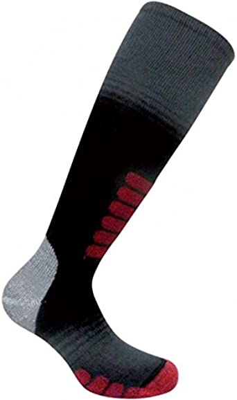 Not To Tight Eurosocks Superlite Ski Socks No Bunching -1034 Ultra Smooth Knit No Seam Toe Thin Snug Fit