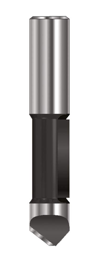 ENT 11770 Ausstechfrä ser und Kopierfrä ser HW (HM), Schaft (C) 6 mm, Durchmesser (A) 6 mm, B 19 mm, D 32 mm, GL 65 mm ENT European Norm Tools