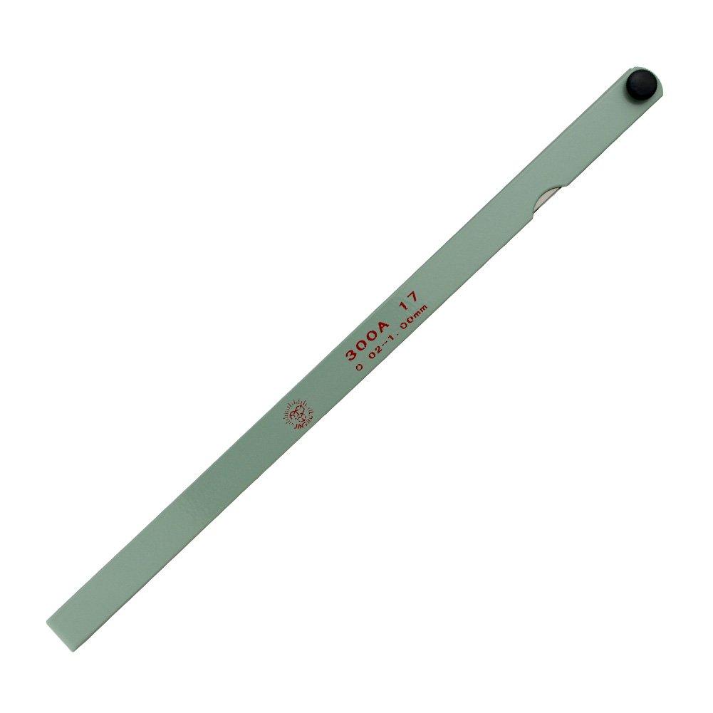 AHL 17 Blade 0.02-1mm Metal Feeler Gauge Measuring Tool 300mm