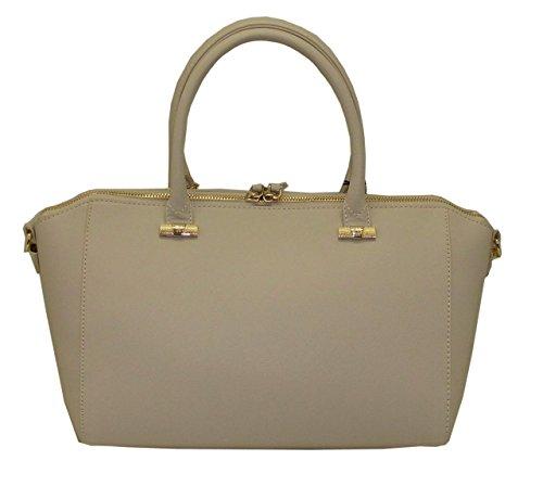 Borsa TRUSSARDI JEANS B493 handbag BAULETTO LEVANTO BEIGE