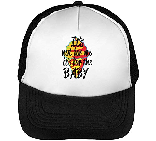 Negro Blanco Gorras Not Snapback Baby Its Its Funny Beisbol Hombre 84xqC