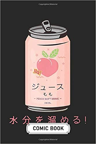 Amazon Com Blank Comic Book Soft Cover 100 Pages 6 X 9 Inches 90s Japanese Aesthetic Peach Juice Can Create Your Own Story Comics Graphic Novels With Blank Comic Book 9798678007087 Morin Adrian Books Japanese cyberpunk tokyo streetwear aesthetic graphic tee. blank comic book soft cover
