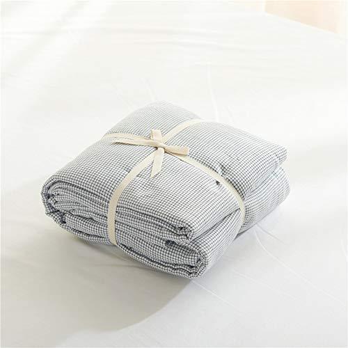 CSYP 4ピースベッドセットシンプルでエレガントなコットン素材のマイクロファイバー、温かく快適な寝具セット (Color : White, Size : S) B07Q3452D4