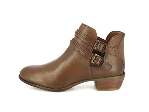 Booties Tan1 Combat Leather Women Boots Lace Boots ALBERTO Shoes Up Casual TORRESI Durbey for Ankle qwfCC46O5