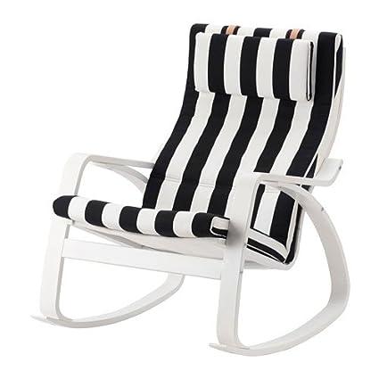 Amazon.com: IKEA mecedora, color blanco, stenli 22386.26511 ...