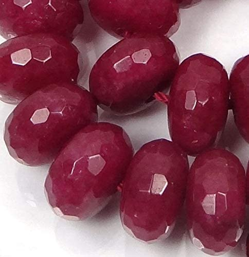 AAA 5x8mm Red Ruby Gems Abacus Loose Beads 15/""