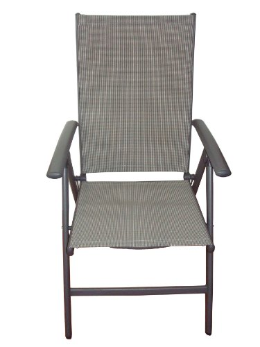 Elegant Folding Reclining High Back Patio Dining Chairs Set Of 2 Outdoor