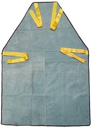 Schwei/ßsch/ürzen Schutzkleidung Hitzeschutz Arbeitskleidung Leder cm #1