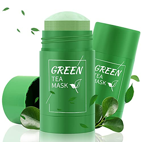 Green Tea Stick Mask, Deep Water Clean and Oil Balance,Oil Control, Deep Pore Cleansing, Blackhead Remover