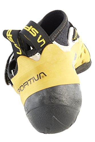 La Sportiva Finale Pies de Gato, Unisex Adulto blanco/amarillo