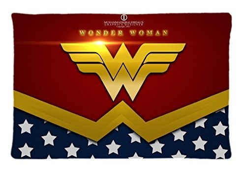 Home Decor Custom Wonder Woman Pillowcase 20x36 two sides Zippered Rectangle PillowCases Throw Pillow Covers