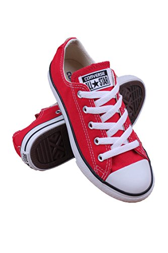 Converse All Star Logo (Converse Kid's Chuck Taylor All Star Low Top Shoe, red, 1.5 M US Little Kid)