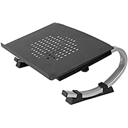Metal Mesh Computer Monitor Stand - Perfect for Monitors, Laptop, Desktop & More (One Laptop Stand)