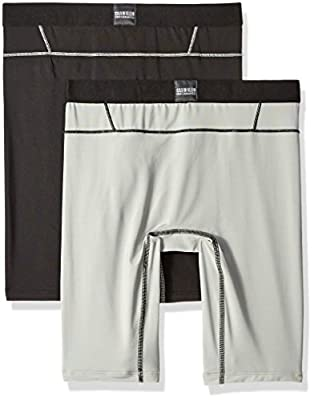 "Calvin Klein Men's 2-Pack Intense Active Fx Micro 9"" Cycle Short"