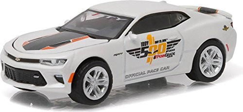 Greenlight Collectibles 50th Anniversary Edition 2016 Indianapolis 2017 Chevrolet Camaro SS Car (1:64 Scale)
