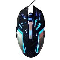 Dark Edge RM-200 Optical Gaming Mouse (Black)