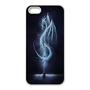 James-Bagg Phone case dragon at sky pattern For Apple Iphone 5 5S Cases FHYY427530