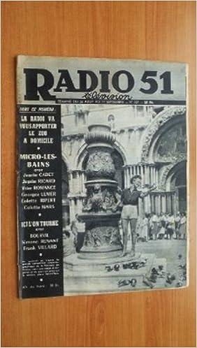Télécharger en ligne RADIO 51 TELEVISION semaine du 26 août au 1er septembre n° 357 pdf epub