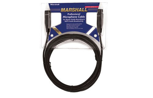 Marshall Electronics M03 12-Inches XLR to XLR Microphone Cable by Marshall