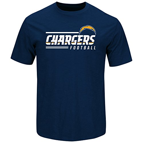 T-shirt Scrimmage - San Diego Chargers Line of Scrimmage Navy T-shirt Large
