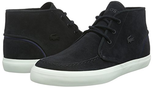 22ab5d97bf0138 Lacoste Men s Sevrin Mid 316 1 Lace Up Casual Sneaker Black 10 M US ...