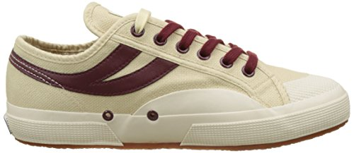 Ecru Superga Adults' 2750 dk Panatta Beige Bordeaux cotu 906 Unisex Low OO0wCAq