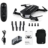 Beyondsky JJRC H37 Mini Baby Elfie Foldable G-Sensor 4CH 6 Axis Selfie Quadcopter Drone WiFi FPV 720P HD Camera (h37 Mini)
