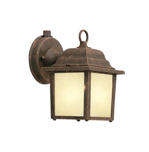 Designers Fountain ES2861-AM-AG Value Collection Wall Lanterns, Autumn Gold