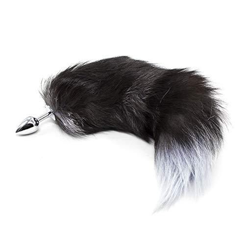 Length 40CM Head Bunny Rabbit T-ail Blockage Animal Pet T-ails Blockage Halloween Costume -