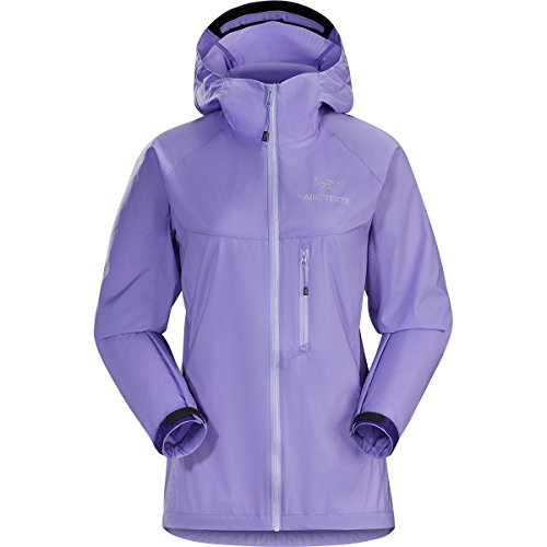 Arc'teryx Squamish Hooded Jacket - Women's Hyacinth, L by Arc'teryx