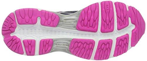 Asics Gel-Cumulus 18 W, Zapatillas de Running para Mujer Varios Colores (indigoblue/silver/pinkglow)