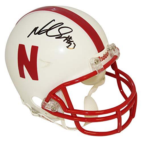 Ndamukong Suh Nebraska Cornhuskers Autographed Signed Riddell Mini Helmet - Certified Authentic