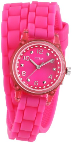 Guess W65023L3 Ladies Sport MICRO MINI Pink Watch ()