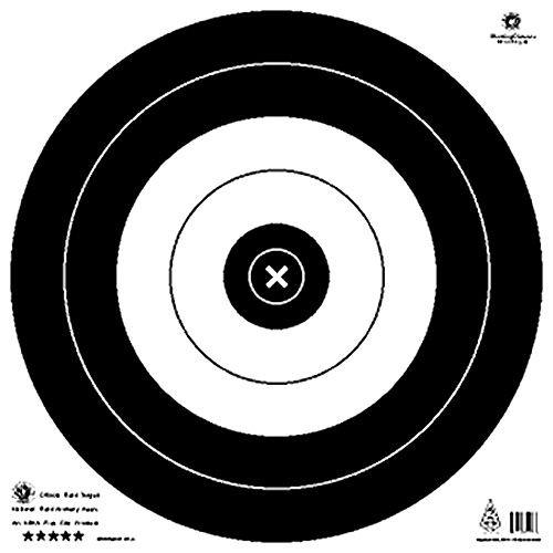 Maple Leaf NFAA Official Field Targets 50 cm 25/pk. - Maple Field Target