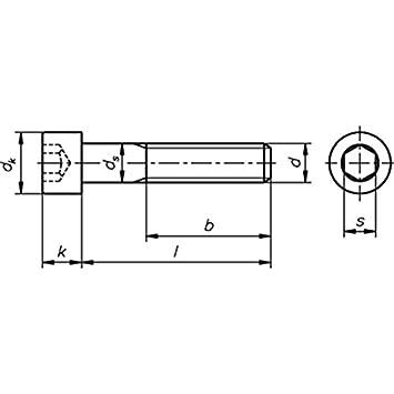 200 Stück Zylinderschrauben DIN 912-A2-70 m.Innensechskant  M 8x 35